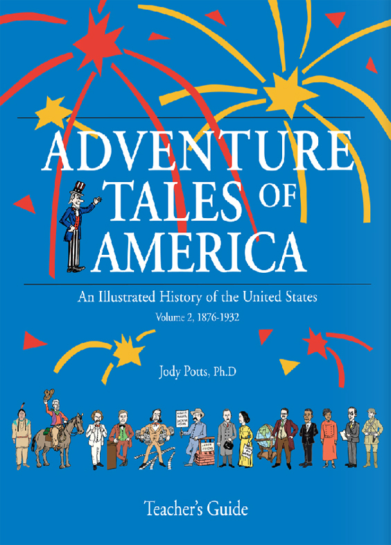Adventure Tales of America, Vol. 2 Teachers Guide
